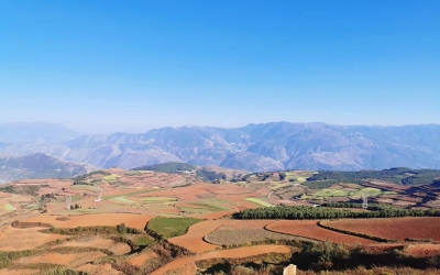 Private Day Tour to Red Land in Dongchuan from Kunming
