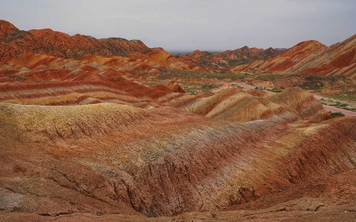 Private Day Tour to Zhangye Danxia Geopark from Xining