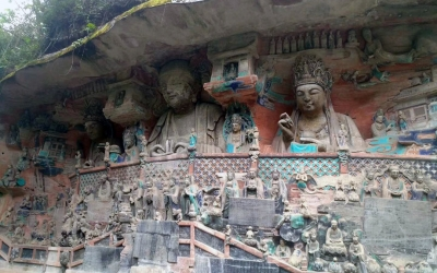 Private Day Tour to Dazu Rock Carving from Chongqing