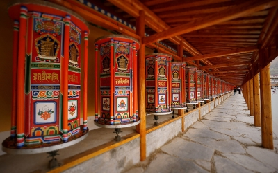 Private Day Tour to Labrang Monastery from Lanzhou