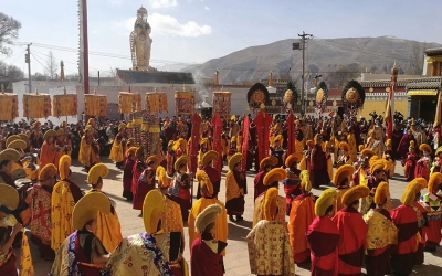Private Tour: 4-Night Trip from Lanzhou to Labrang and Xining