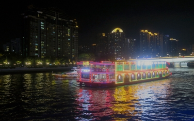 Guangzhou Private Night Tour to Lychee Bay, Beijing Road & Pearl River Cruise