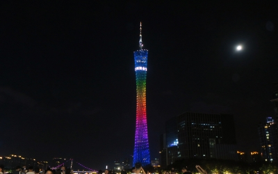 Buffet Dinner at Canton Tower Revolving Restaurant with Pearl River Night Cruise